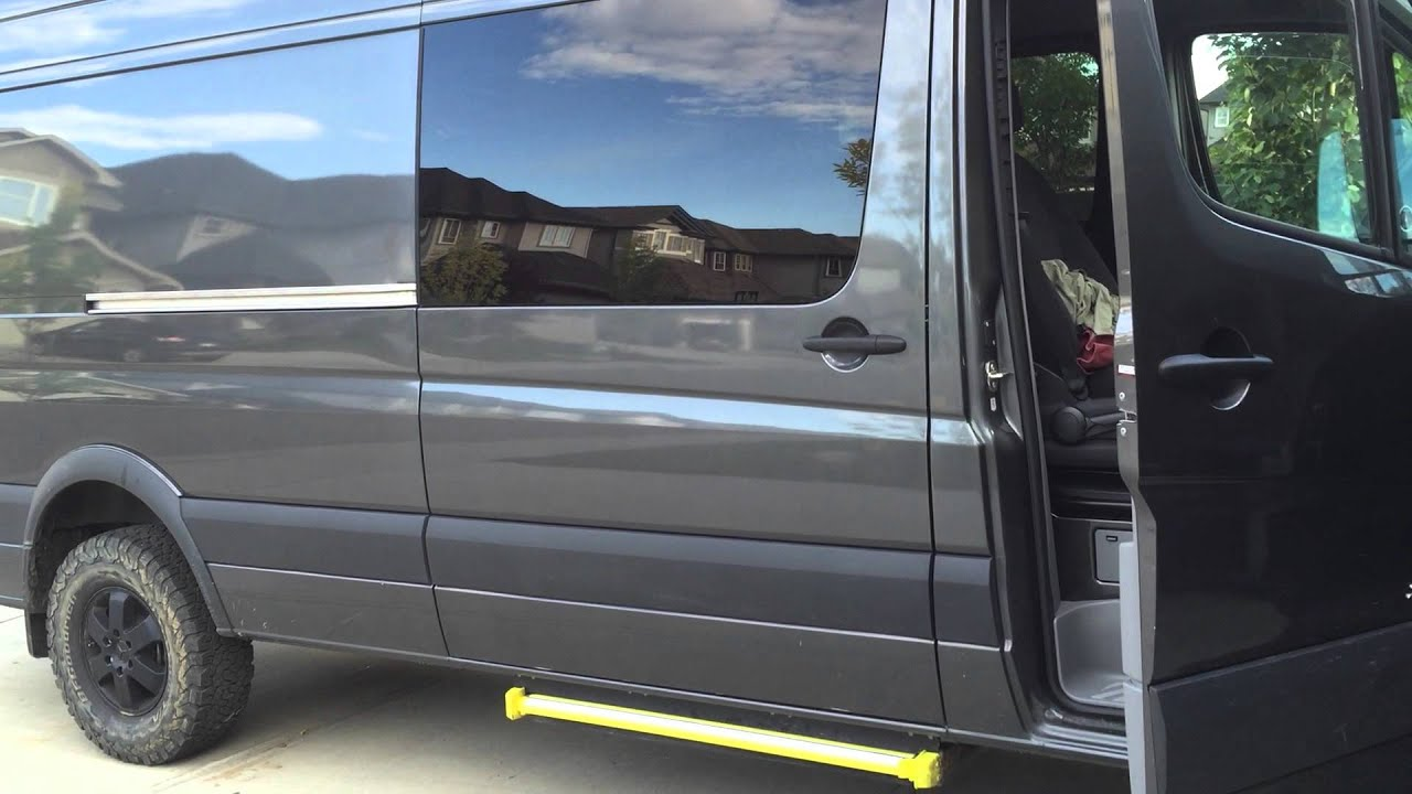 Sprinter ador power sliding door 4x4 sprinter factory power step - YouTube & Sprinter ador power sliding door 4x4 sprinter factory power step ... Pezcame.Com