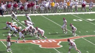 Iowa State-Texas 2012: Steele Jantz Quarterback Draw