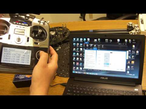 How to setup FailSafe & IOC on Turbo Ace Infinity 9 Octocopter w/ DJI A2 & Futaba 14SG
