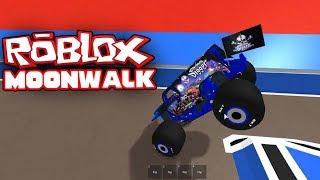 Monster Jam: Roblox - DOING A MOONWALK.. (Roblox Gameplay #1)