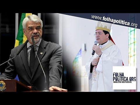 Bispo desmente senador petista e explica que não houve manifestação pró-Lula na missa