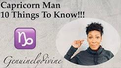 Capricorn Man 10 Things to Know!!