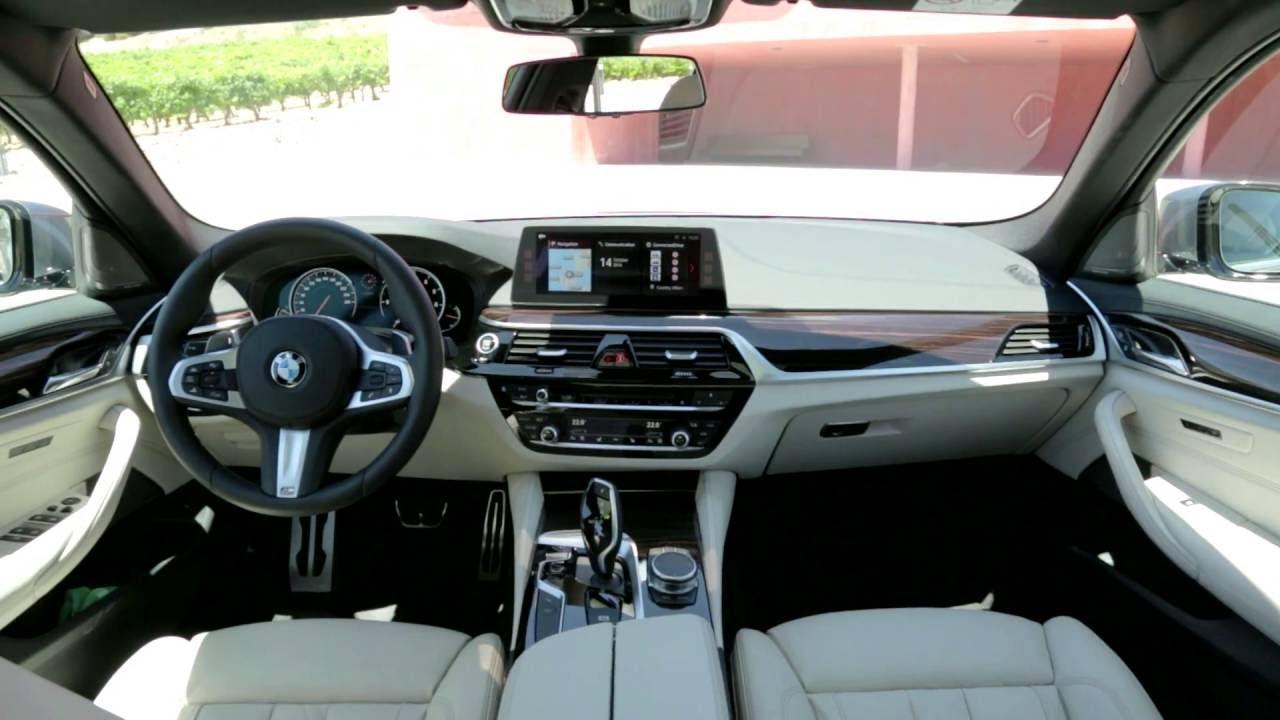 2017 bmw seria 5 g30 design interior prezentare for Bmw serie 6 interieur