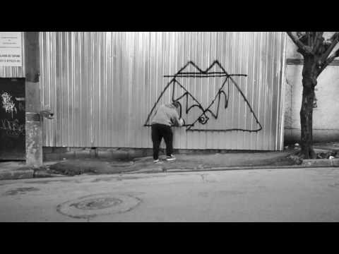 In Action 004 - Sliks, Mudo and Skola in São Paulo. (Graffiti documentary).