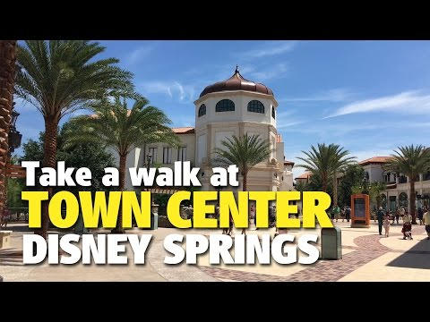 Newly Opened Town Center Walk-Around | Disney Springs
