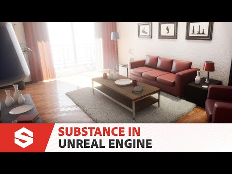 Substance in Unreal Engine 4.19