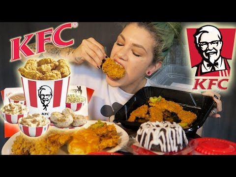 KFC MUKBANG! [EATING SHOW]