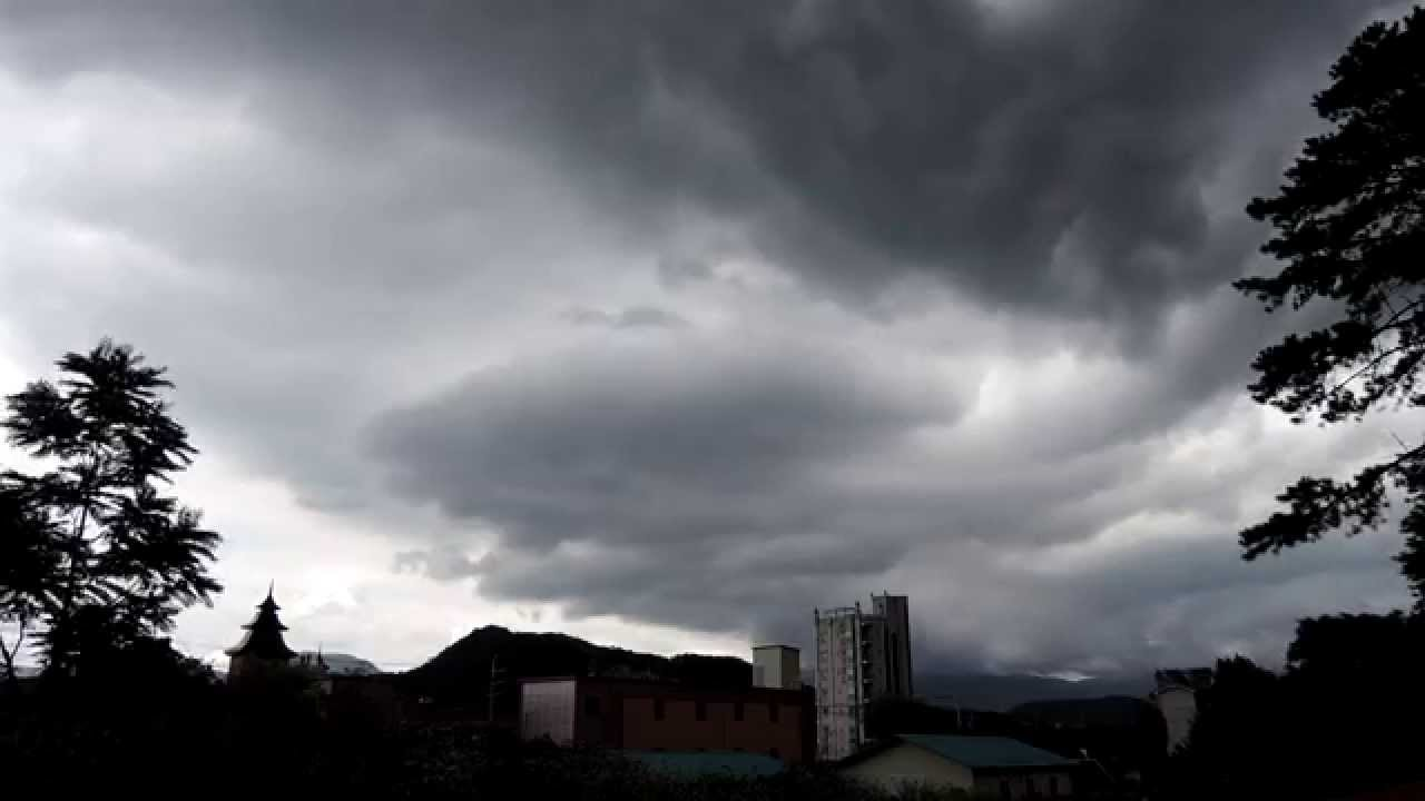 Rain Clouds Move Yangpyung