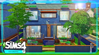 Eco Friendly Family Home - The Sims 4 Eco Lifestyle Speed Build