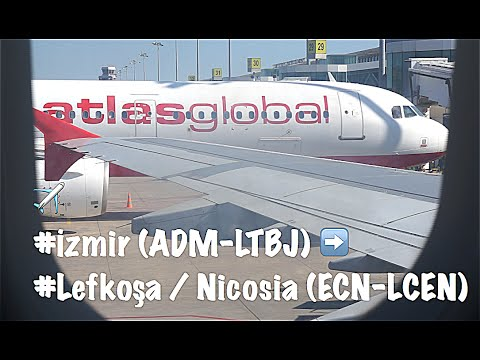 Atlasglobal: KK1024 Flight Izmir to Nicosia | TC-AGS Airbus A321-131