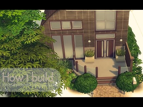 how i build part 1 the sims 4 simple house youtube. Black Bedroom Furniture Sets. Home Design Ideas