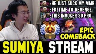 SUMIYA's REVENGE & Comeback | Sumiya Invoker Stream Moment #404