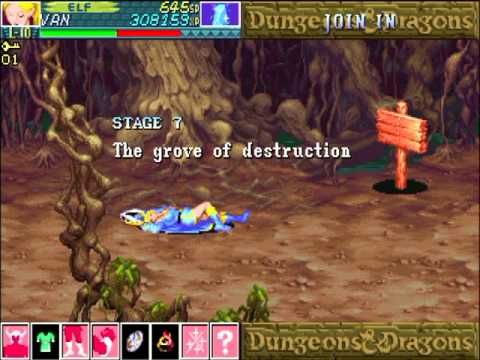 Dungeons And Dragons Shadow Over Mystara Euro 960619 Mame Vizzed Com Gameplay Youtube