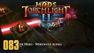 Monster Hero - Werewolf Alpha Class - Torchlight 2 MOD 083