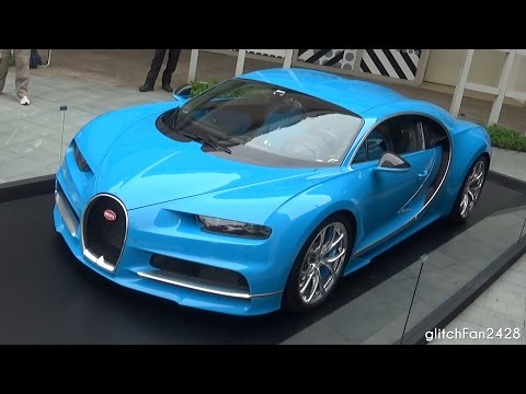 Bugatti Chiron on Display in Singapore