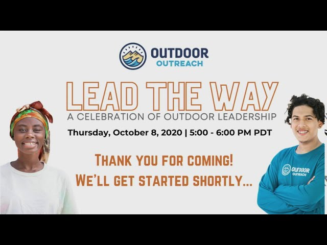 Outdoor Outreach Lead the Way