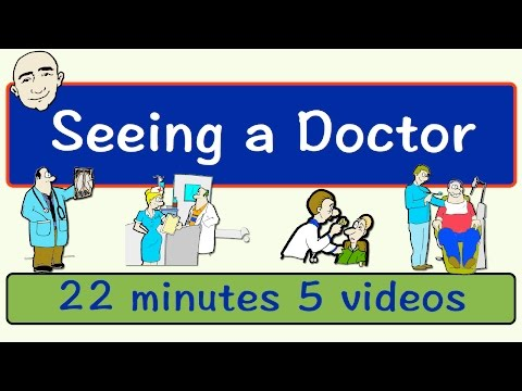 Seeing A Doctor | Long Video | English Speaking Practice | ESL | EFL