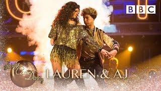 Lauren Steadman & AJ Pritchard Cha Cha to 'Fame' - BBC Strictly 2018