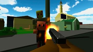 PAPÁ ZOMBIE!! - Zombie Blocks