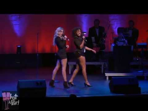 "Laura Bell Bundy & Asmeret Ghebremichael ""What A Pair! 2013"""