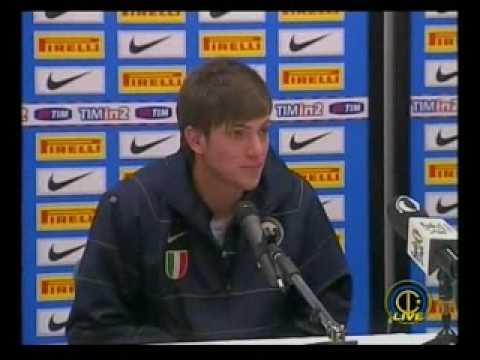 Mourinho & Santon   Conferenza post derby Inter Milan 2 1 15 Feb 2009