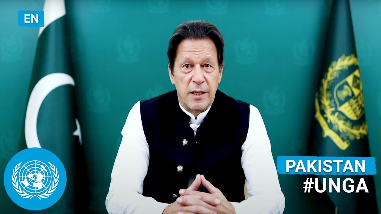 Download 🇵🇰 Pakistan - Prime Minister Addresses United Nations General Debate, 76th Session (English)