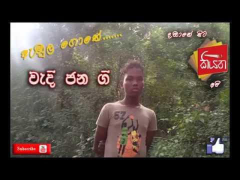 Folk song by a Vedda tribe boy(Sri lanka)
