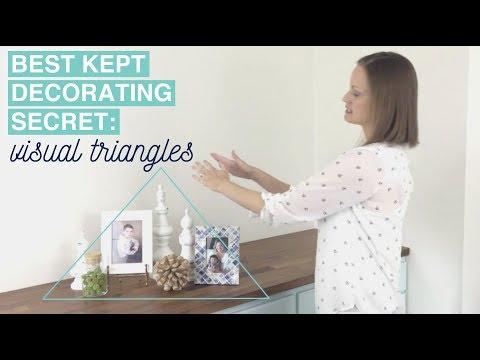 An Interior Designer's Best Kept Secret: Visual Triangles | Home Styling 101 Episode 5