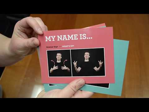 Learn American Sign Language Course Unboxed