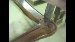 Loosening Furniture Joints With A Heat Gun - Thomas Johnson Antique Furniture Restoration