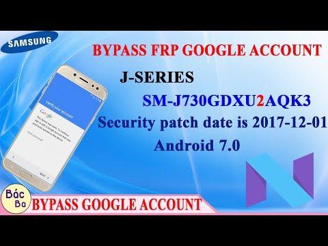 Bypass FRP Google Account J-Series J7 Pro (SM-J730G