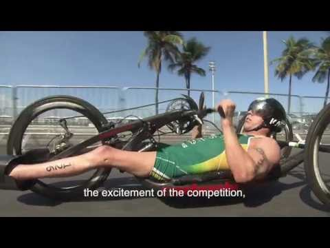 Rio 2016 Paralympics Bill Chaffey Interview