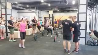 Соревнования Кросфит  Х Line sport