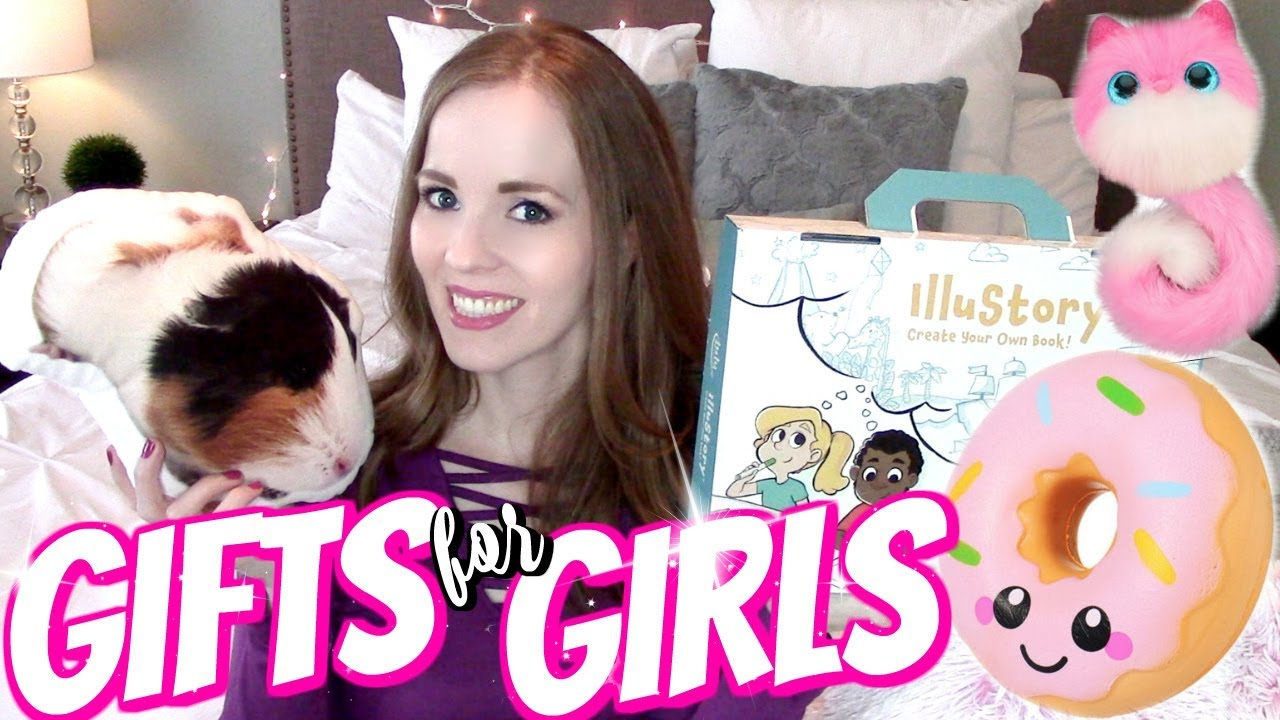 Gifts For Girls What I Got My 8 Year Old For Christmas Gift Ideas For Kids Youtube