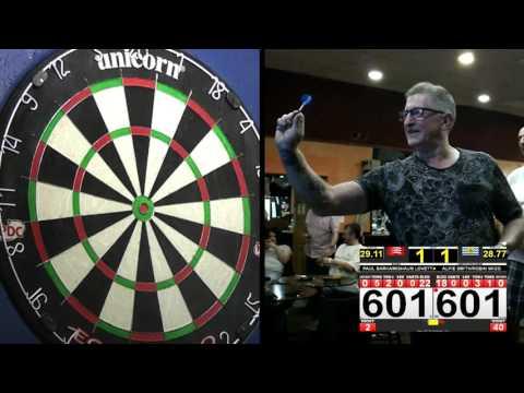 Shaun Lovett/Paul Barham Vs Alfie Smith/Robin Wigg - St Peters Darts Open, Carshalton, 23/10/16