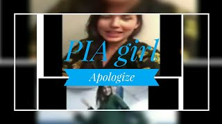PIA girl Apologize   dance at PIA airline on 14 August   INDEPENDENCE day celebration dance 