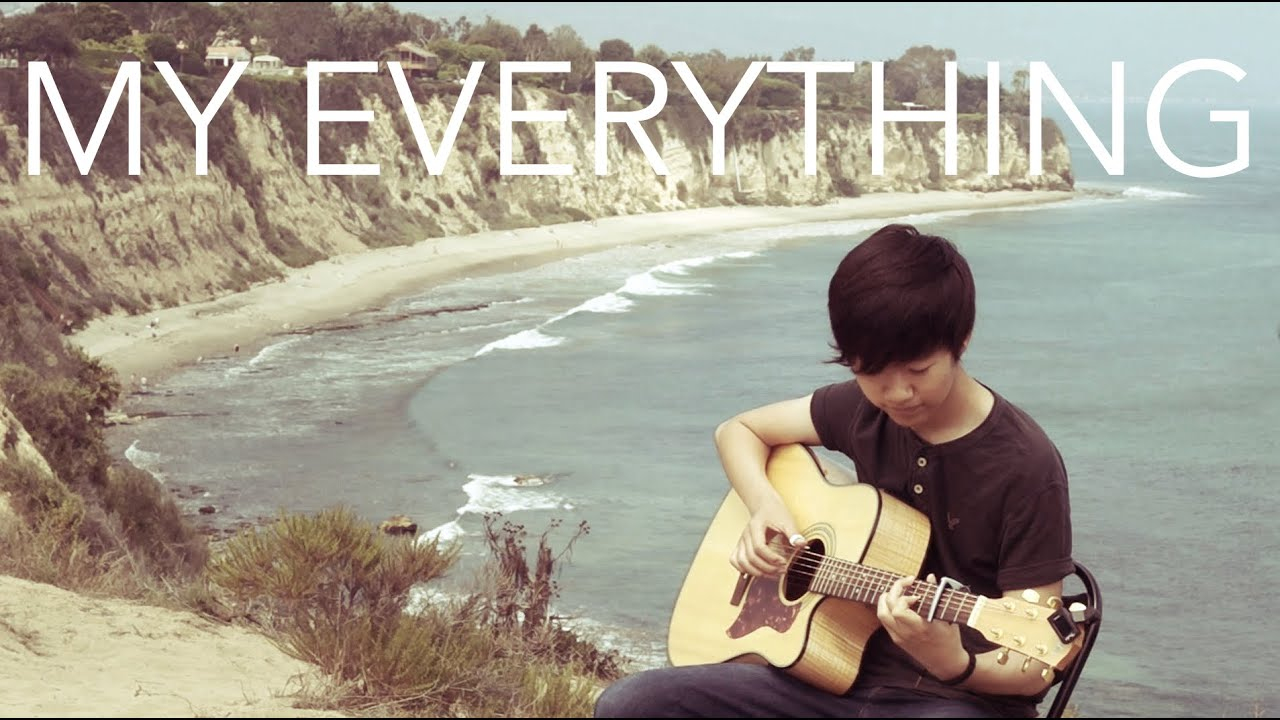 My Everything Owl City Fingerstyle Guitar Cover By Harry Cho