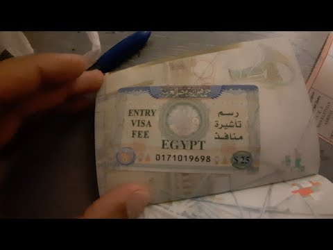 UK To Egypt 🇬🇧  🇪🇬 How To Get Egypt Visa - Visa Fee - Fill Up Landing Card And Flight Experience