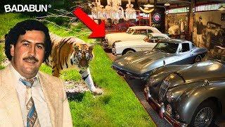 Los 10 lujos más absurdos de Pablo Escobar