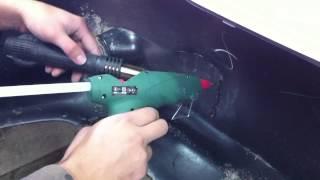 видео Пистолет для сварки пластмассы: как работает аппарат?