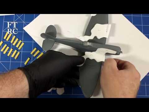 Academy Spitfire MK XIVc Part 2  Paper Camo Mask