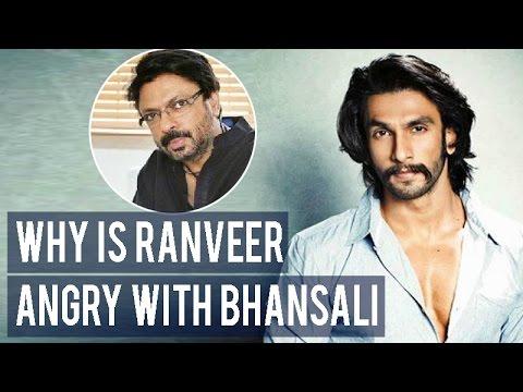 Here is why Ranveer Singh is ANGRY with Padmavati director Sanjay Leela Bhansali