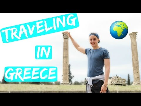 MY FIRST TIME IN GREECE! | Travel Vlog