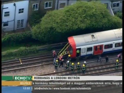 Terrortámadás történt a londoni metrón - Echo Tv
