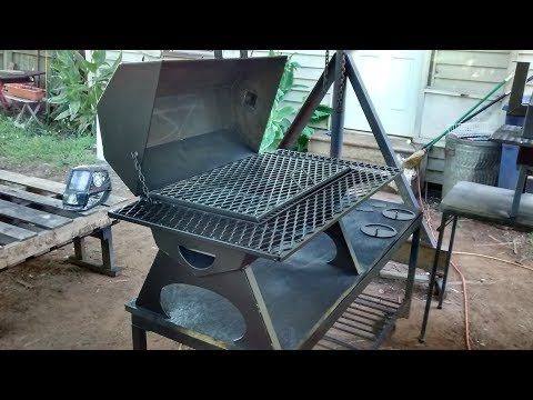 Heavy duty table top bbq grills