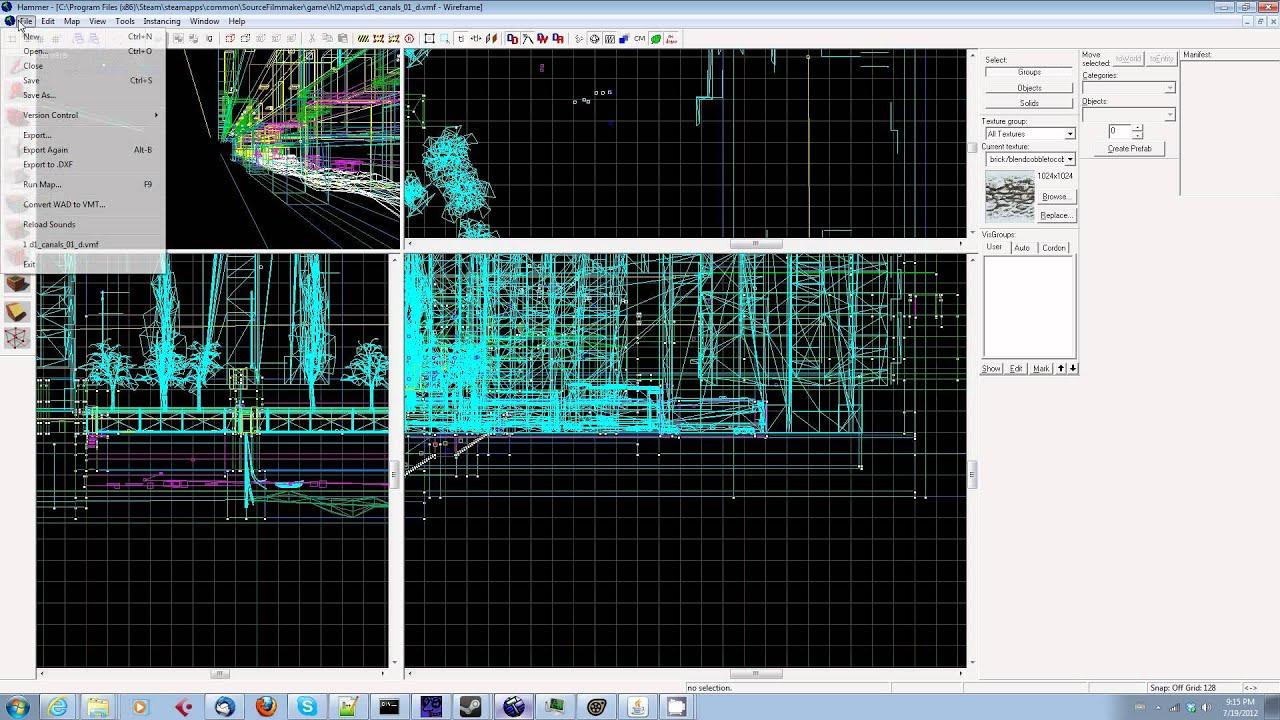 Sfm Subway Map.Sfm Source Filmmaker Tip Of The Day 10 Using Hl2 Maps In Source Filmmaker
