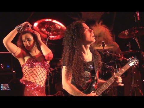 Marty Friedman - Ballad of the Barbie Bandits + Tsume Tsume Tsume - Live Paris 2012