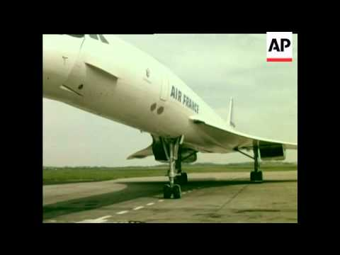 CONCORDE TRAINING AT SHANNON AIRPORT - COLOUR