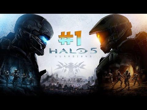 Halo 5: Guardians. Прохождение. Часть 1 (Осирис) 60fps