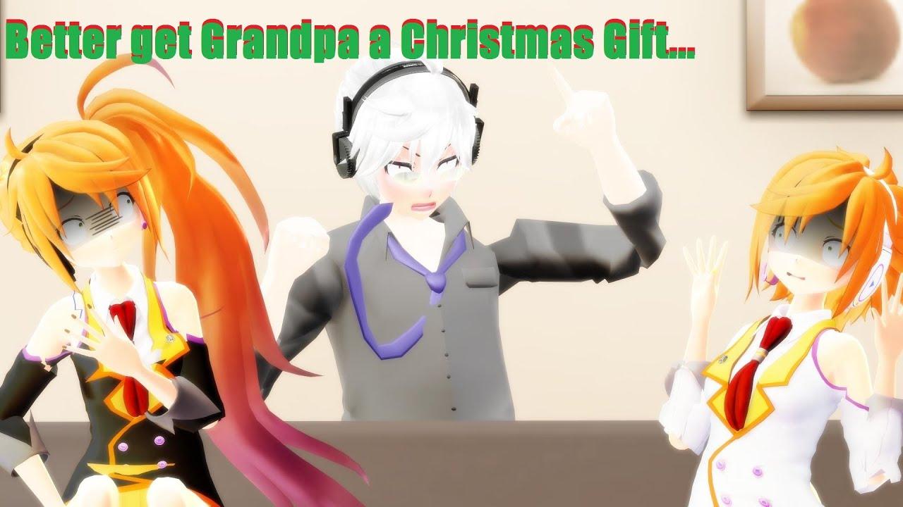 mmd vine better get grandpa a christmas present dl in desc youtube